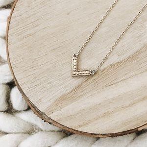 New Anna Beck Reversible Mini V-Pendant Necklace
